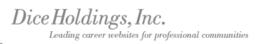Dice Holdings