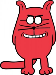 "Catbert is the Evil HR Director in Scott Adams' comic strip ""Dilbert."""