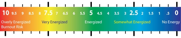 Figure 1: Energy Pulse Scale