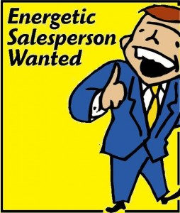 salesperson wanted