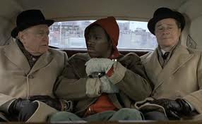 "The wealthy Duke brothers (Ralph Bellamy and Don Ameche) offer a homeless beggar (played by Eddie Murphy) the chance to be part of a ""social"" experiment."