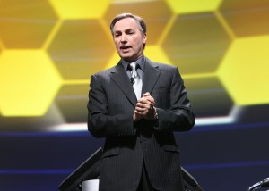 Lawson Software CEO Harry Debes