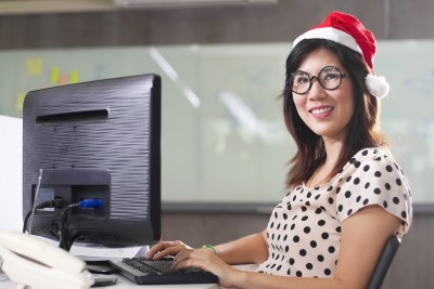 Are you one of those people who likes to work during the last week of the year because it helps you get caught up? Photo by 123RF Stock Photo