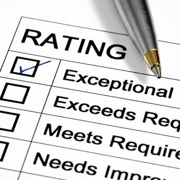 Exceptional performance review