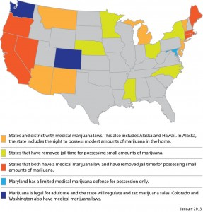 HR Plus - Marijuana Law Map 1-13-1
