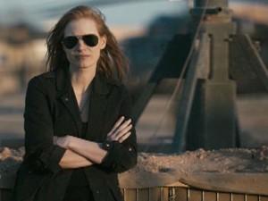 """Jessica Chastain plays """"Maya"""" in the film """"Zero Dark Thirty."""""""