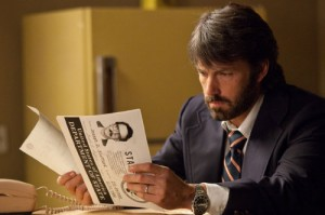 "Ben Affleck, as CIA operative Tony Mendez, in the Oscar-nominated film ""Argo."""