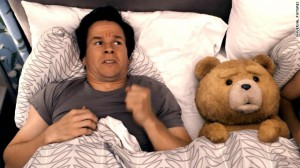 "Mark Wahlberg stars in the movie ""Ted."""