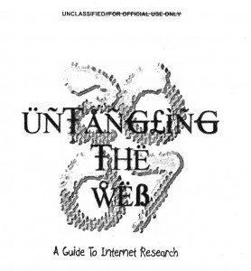untangling the web cover