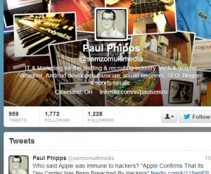 Paul Phipps twitter