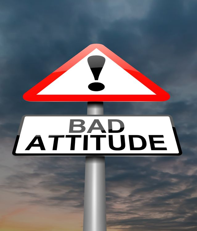 a discussion of a wrong attitude Lesson 10: why serve god (malachi 3:13-18)  behind their wrong attitude was the age-old subject that we covered in 2:17:  discussion questions.