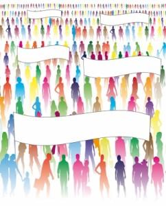 People crowd-free