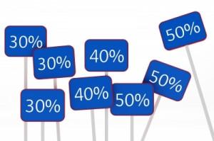 percent signs