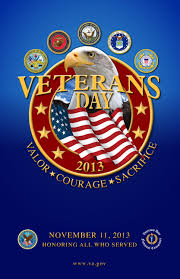 Veterans day 2013