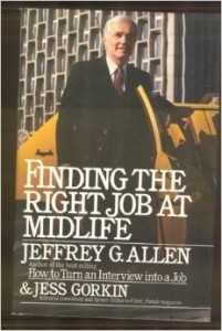 Finding the right job - book
