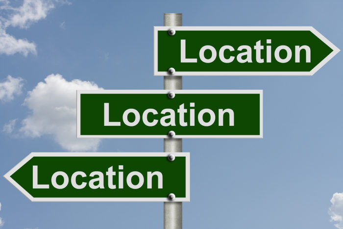 how to add location on linkedin