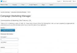 Campaign marketing manager