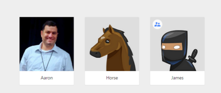 aaron james horse