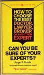 Choose your experts book cover