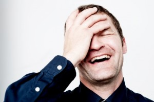 Laughing man - stockimages - free