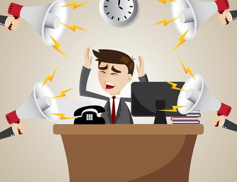 Noisy office open office