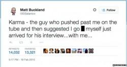 Buckland Tweet