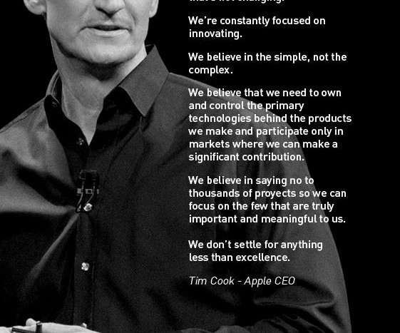 Nike Inc Mission Statement >> Lesson From Apple: A Manifesto Beats a Mission Statement Any Day | TLNT