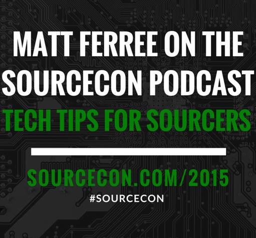 Matt Ferree SourceCon Podcast