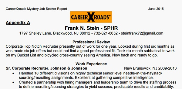 Unemployment No Handicap to Frank N Stein ERE