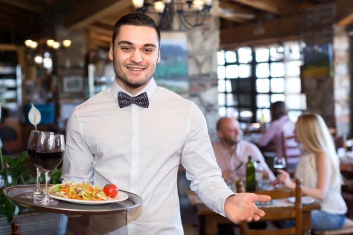 Trading restaurant tips for better engagement tlnt for Job serveuse