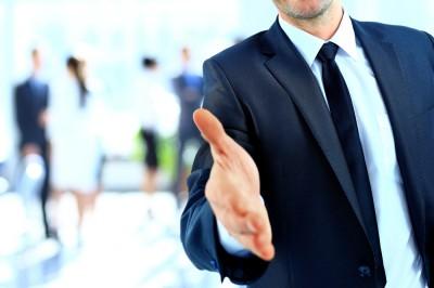 job offer handshake