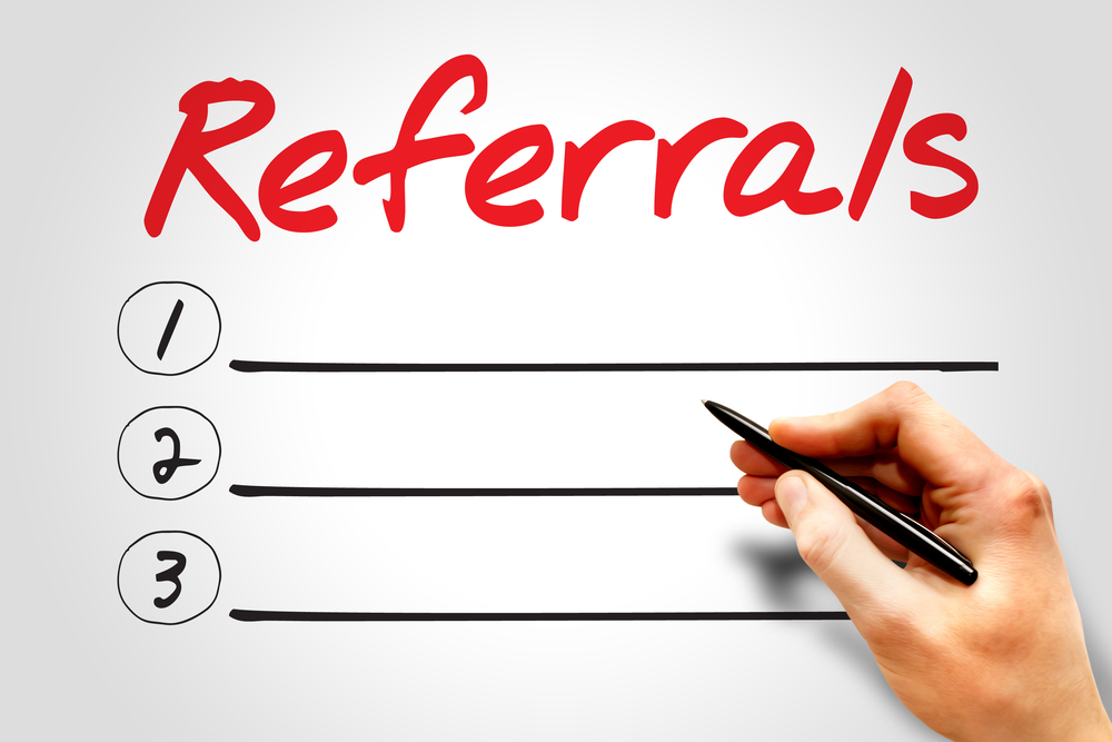 how to thank someone for a job referral