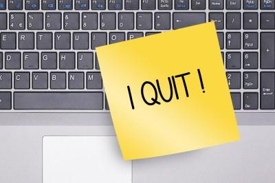 Quit resign Quit