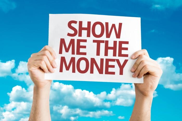 pay salary money