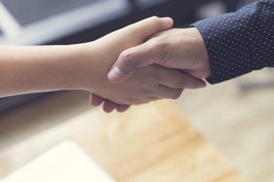 handshake - closing