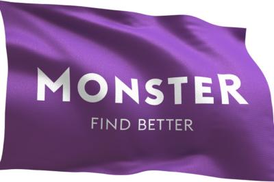 Monster logo for display