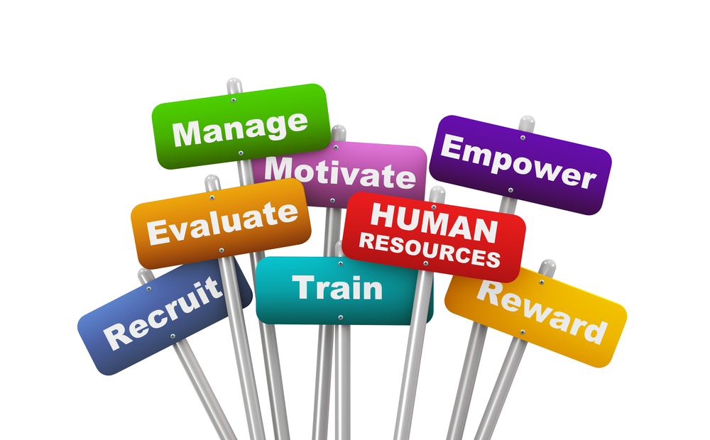 human resouces management In-house personnel may manage the recruitment process at larger companies,  human resources professionals may be in charge of the task in the smallest.