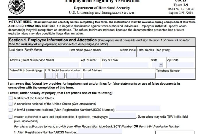 the i-9 form and fines are changing: are you up-to-date? | tlnt