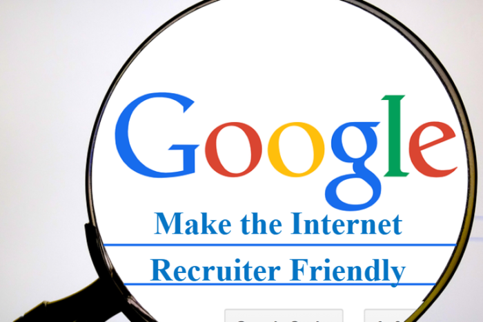 make the internet sourcer and recruiter friendly sourcecon