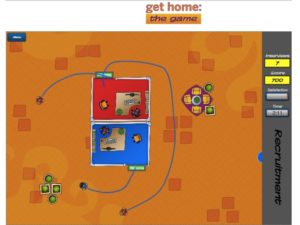 Get Home Game_Game play screen