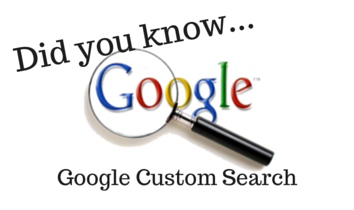 The Art of Building a Google Custom Search Engine – Part 1