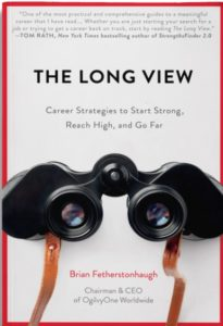 Book cover the long view