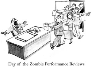 cartoon for performance reviews