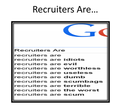 recruiters are