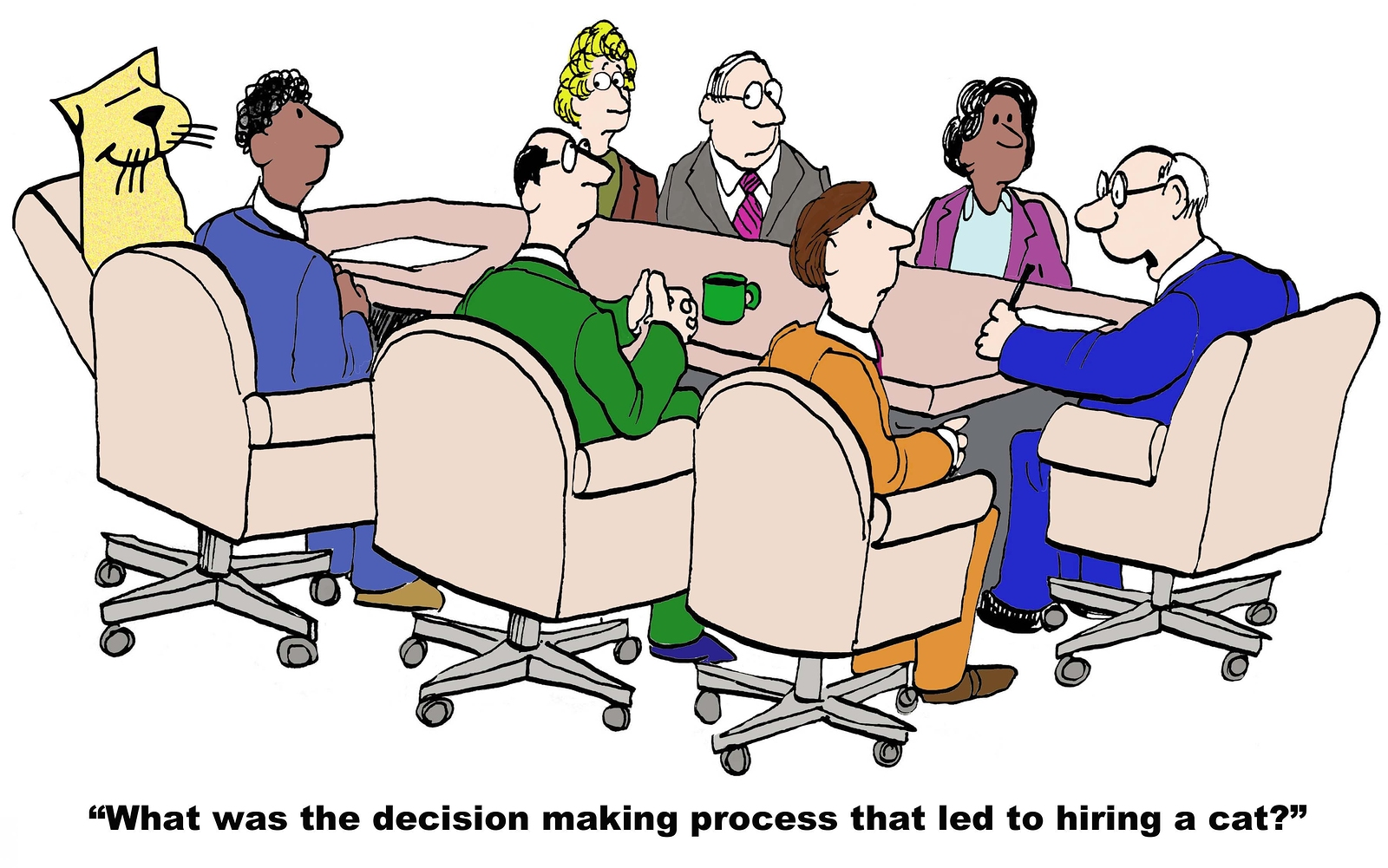 a report on group decision making process