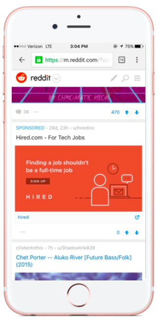 Hired.com on Reddit