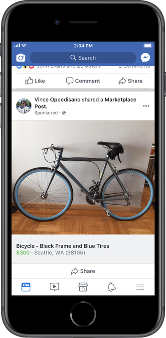 Facebook Marketplace Ads