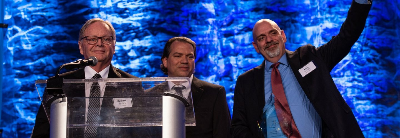 WorkHere's Executive Team Accepts Innovation Award