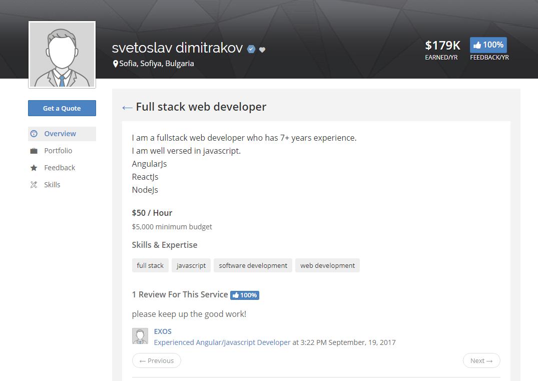 Web Designer And Developer Hourly Rate