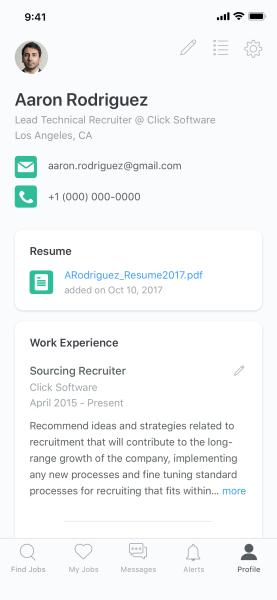 ZipRecruiter Launches Job Seeker Profiles